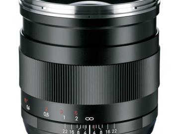 Rent: Zeiss Distagon 25mm Prime f2
