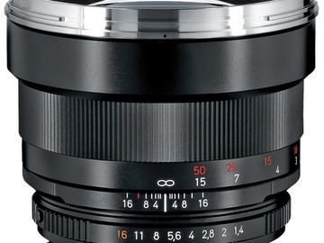 Rent: Zeiss Planar 85mm f1.4