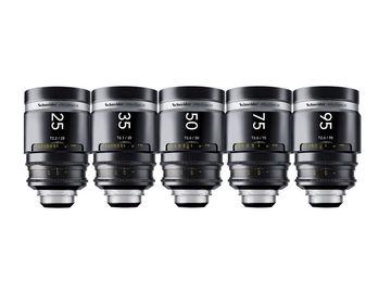 Schneider Xenar III 5 Lens Set