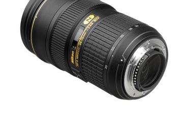 Rent: Nikon AF-S FX NIKKOR 24-70mm f/2.8G ED Zoom Lens (FX)