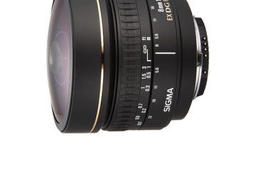 Rent: Sigma 8mm f/3.5 EX DG Circular Fisheye Fixed Lens for Nikon