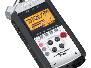"Rent: Zoom H4N Recorder - XLR & 1/4"" Inputs"