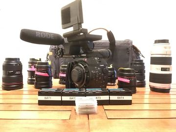 Rent: Canon C500 KIT with EF Lenses