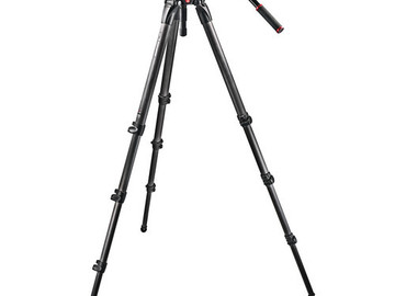 Rent: Manfrotto 536 Carbon Fiber Tripod w/ 509HD Fluid Head