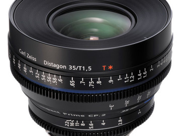 Rent: Zeiss CP.2 35mm T/1.5 Super Speed Lens