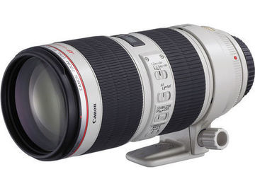 Rent: Canon 70-200 mm f/2.8 II IS L Series with Case