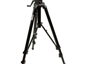 Rent: Manfrotto 475B Professional Tripod + 501HDV Video Head