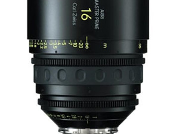 Rent:  Zeiss/ARRI MasterPrime 16mm T1.3 PL-Mount