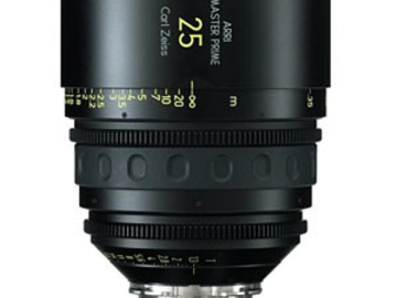 Rent: Zeiss/ARRI MasterPrime 25mm T1.3 PL-Mount