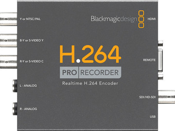 Rent: Blackmagic H.264 Pro Recorder