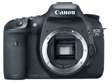 Rent: Canon 7D - body only