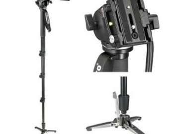 Rent: Manfrotto 561B HDV Fluid Video Monopod with Head