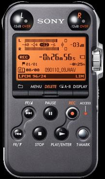 SONY PCM-M10 Linear PCM Recorder