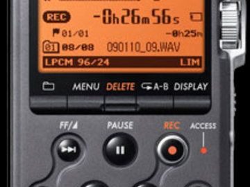 Rent: SONY PCM-M10 Linear PCM Recorder