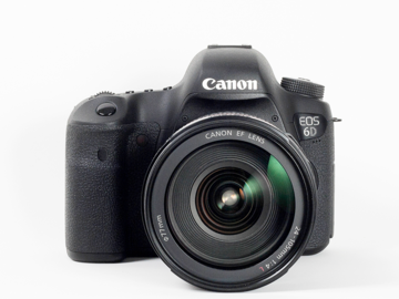 Kit: Canon 6D DSLR body and Canon 50mm f1.4 lens