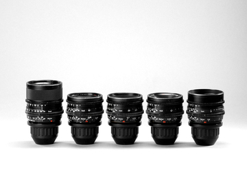 Rent: Zeiss Super Speed Lens Set Mark II (18-50)