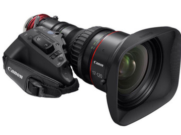 Rent: Canon 17-120 F2.8 Cine Servo Lens PL mount