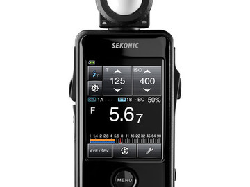 Rent: Sekonic LiteMaster Pro L-478D-U Light Meter