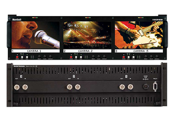 "Rent: Marshall 3x 6.5"" LCD PANEL V-R653P-HDSDI"