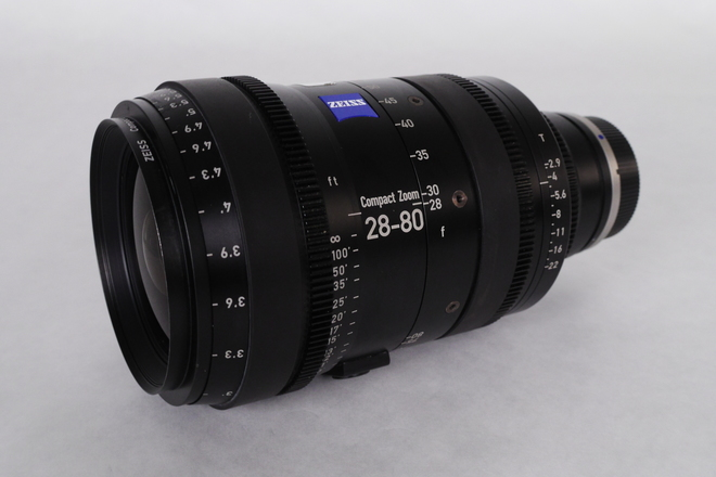 Zeiss CZ.2 28-80mm Compact Zoom T2.9 Zoom Lens