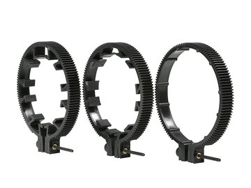 Rent: Set of 3 lens gears - 66mm, 77mm & 88mm