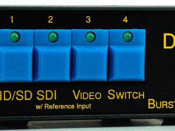 Rent: Burst Electronics 1x4 HDSDI Tech Switcher w/ Genlock