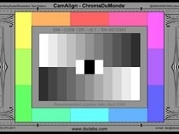 Rent: DSC Senior 12R Color Chart & Cam Belles Chart