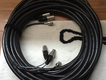 Rent: Canare 75ft dual XLR and single BNC RG59 Cable Snake - ENG