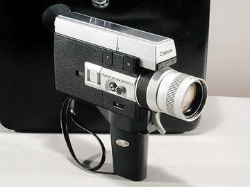 Rent: Canon Auto Zoom 518 Super 8 Camera