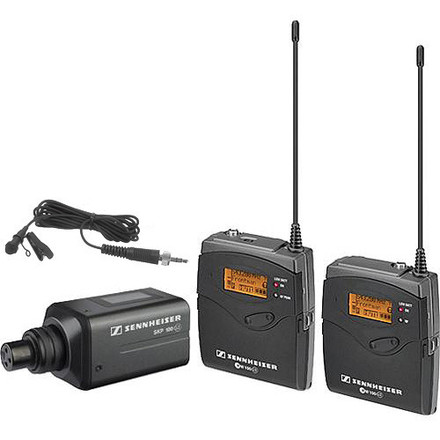 Sennheiser ew 100 G3 Receiver and Transmitter Package (3/3)