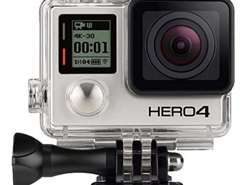Rent: GoPro HERO4 BLACK 4K 30FPS Waterproof