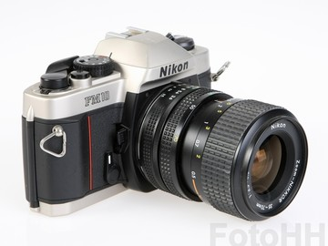 Rent: Nikon FM-10 SLR Camera with 35-70mm f/3.5-4.8 Zoom Lens