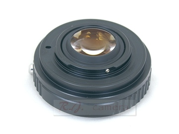 Rent: Speed Booster For NIKON F/G to Micro 4/3