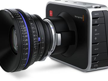 Rent: Black Magic Cinema Camera 2.5K EF Mount + Accessories