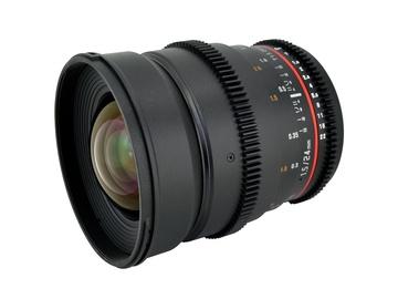 Rent: 24mm T1.5 Rokinon Cine Lens Canon EF