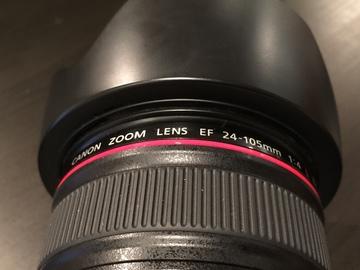 Canon EF 24-105mm f/4 L IS USM Lens