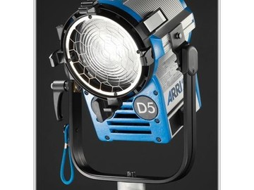 Rent: Arri Compact HMI 575W Fresnel Light Kit