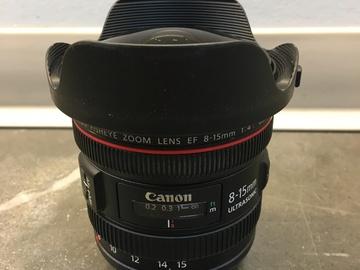 Rent: Canon EF 8-15mm f/4L Fisheye USM Lens
