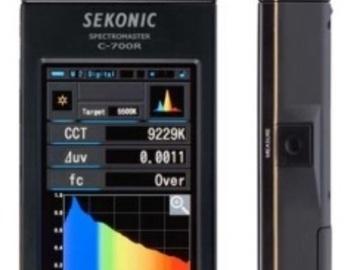 Rent: Sekonic SpectroMaster C-700 Color Meter