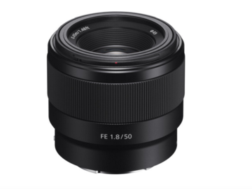 Rent: Sony FE 50mm F/1.8 Lens