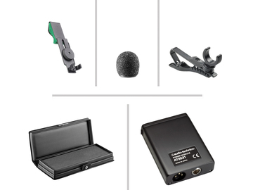 Rent: Sennheiser ME66/K6 & Audio-Technica Condenser Lavalier Kit