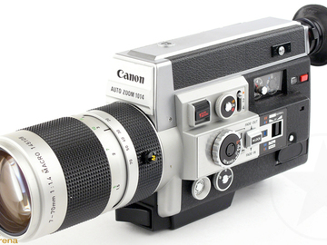 Rent: Canon Auto Zoom 1014 Electronic Super 8 Camera