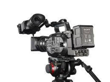 Rent: Complete Sony FS7 Package with 28-135 lens & ProRes Back
