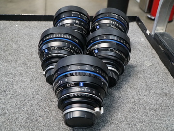 Zeiss Compact Prime CP.2 Package  (5 lens)
