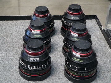 Rent:  Canon Cinema Prime Lens Package (6 lens)