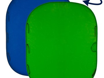 Rent: Lastolite 6x7 Collapsible Chromakey Green screen / Blue