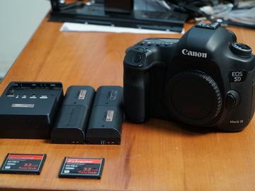 Rent: Canon EOS 5D Mark III DSLR Camera Body Deluxe Kit
