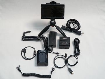 "Rent: TVLogic VFM-058W 5.5"" Full HD On-Camera Monitor Kit"