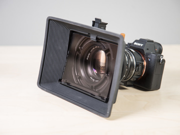 Rent: Bright Tangerine Misfit Atom Mattebox - Filter holder