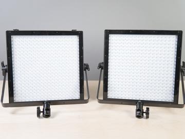 2 light - 1x1 Genaray 5600k Light Panels kit w/Batteries #1